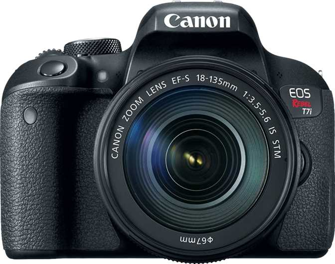 Canon EOS Rebel T7i + Canon EF-S 18-135mm F/3.5-5.6 IS STM