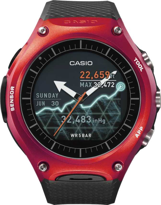 Casio Pro Trek Smart WSD-F10
