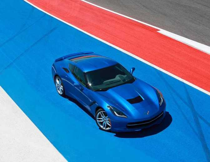 Chevrolet Corvette Stingray Coupe 1LT (2014)