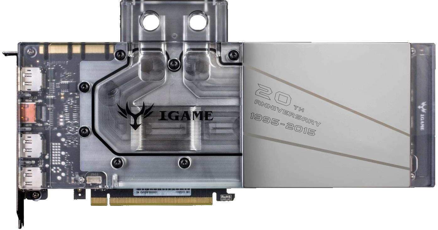 Colorful iGame GTX 980 Ti 20th Anniversary Edition