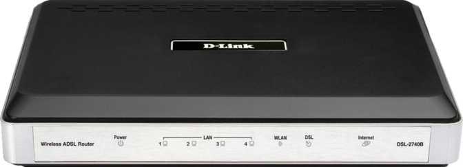 D-Link DSL-2740B