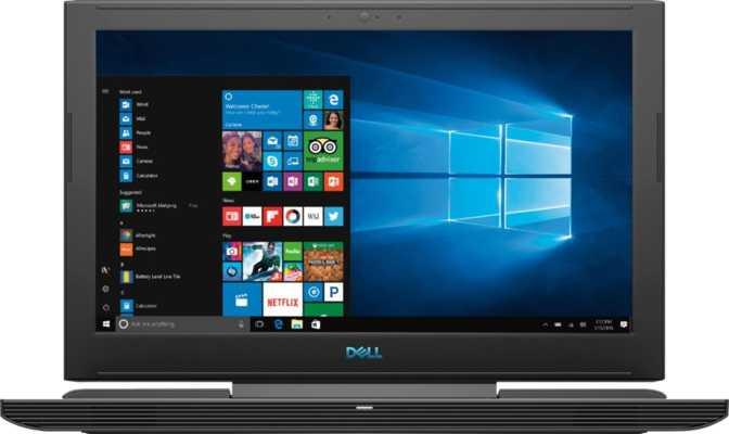 "Dell G7-7588-U30 15.6"" Intel Core i7 8750H 2.2GHz / 16GB RAM / 256GB SSD + 1TB HDD"