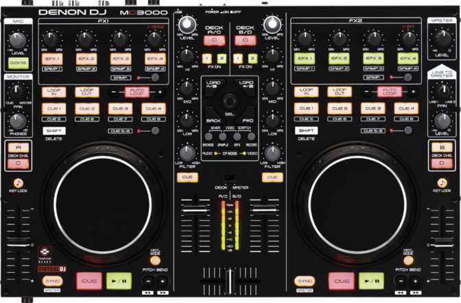 ≫ Denon MC3000 vs Native Instruments Traktor Kontrol S2