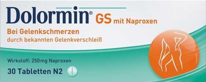 Dolormin GS mit Naproxen