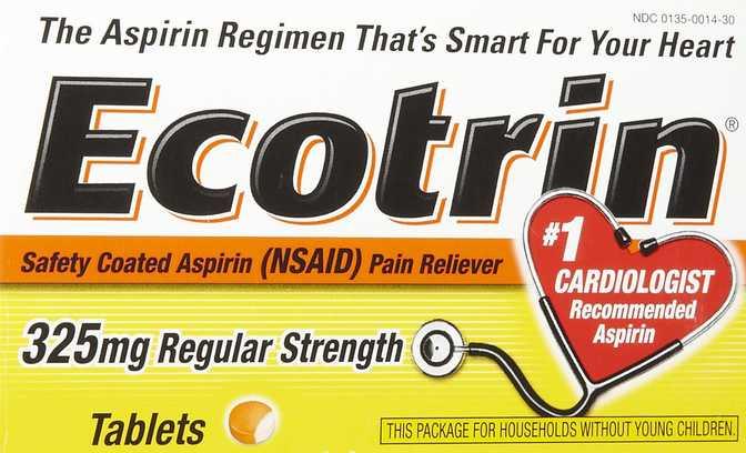Ecotrin Regular Strength