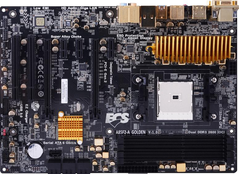 ECS A85F2-A Golden
