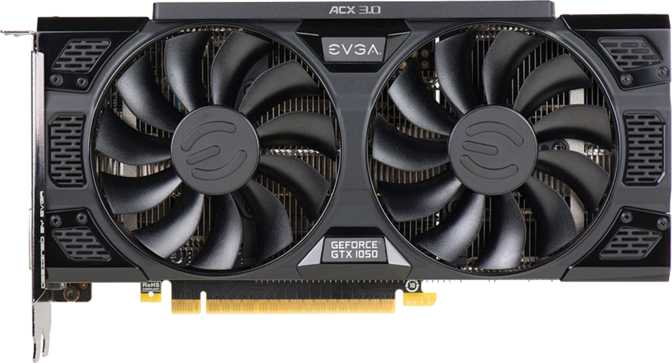 EVGA GeForce GTX 1050 SSC ACX 3.0