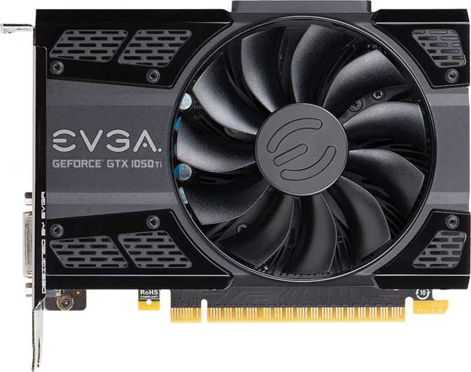 EVGA GeForce GTX 1050 Ti ACX 2.0