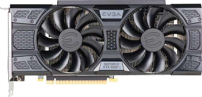 EVGA GeForce GTX 1050 Ti FTW ACX 3.0