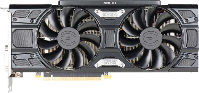 EVGA GeForce GTX 1060 FTW ACX 3.0