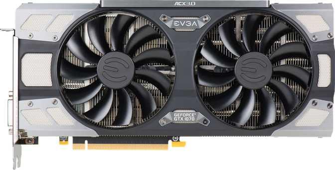 EVGA GeForce GTX 1070 FTW DT ACX 3.0