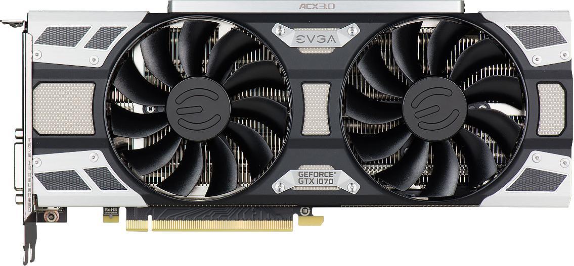 EVGA GeForce GTX 1070 Superclocked Gaming ACX 3.0