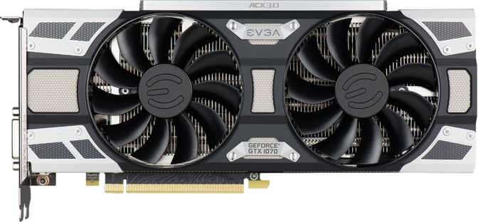 EVGA GeForce GTX 1070 Superclocked Gaming ACX 3.0