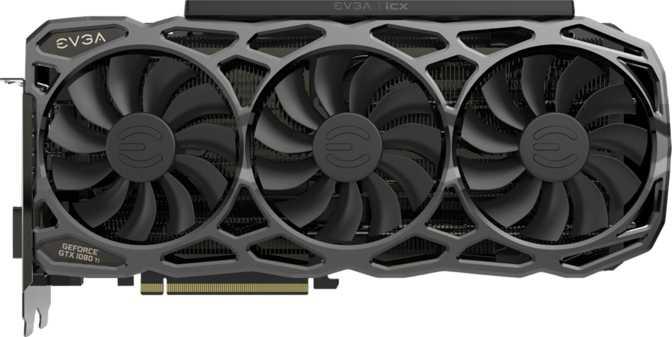 EVGA GeForce GTX 1080 Ti FTW3 Elite Black