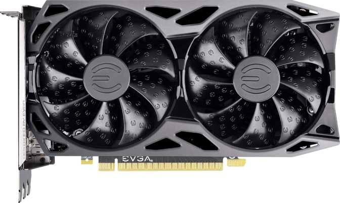 EVGA GeForce GTX 1650 XC Ultra Black