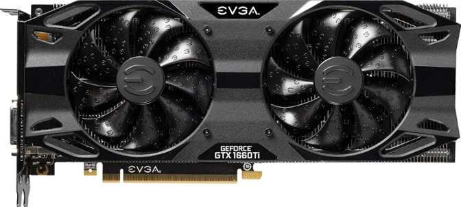 EVGA GeForce GTX 1660 Ti XC Ultra Gaming