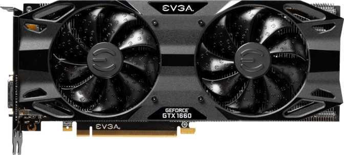 EVGA GeForce GTX 1660 XC Ultra Gaming