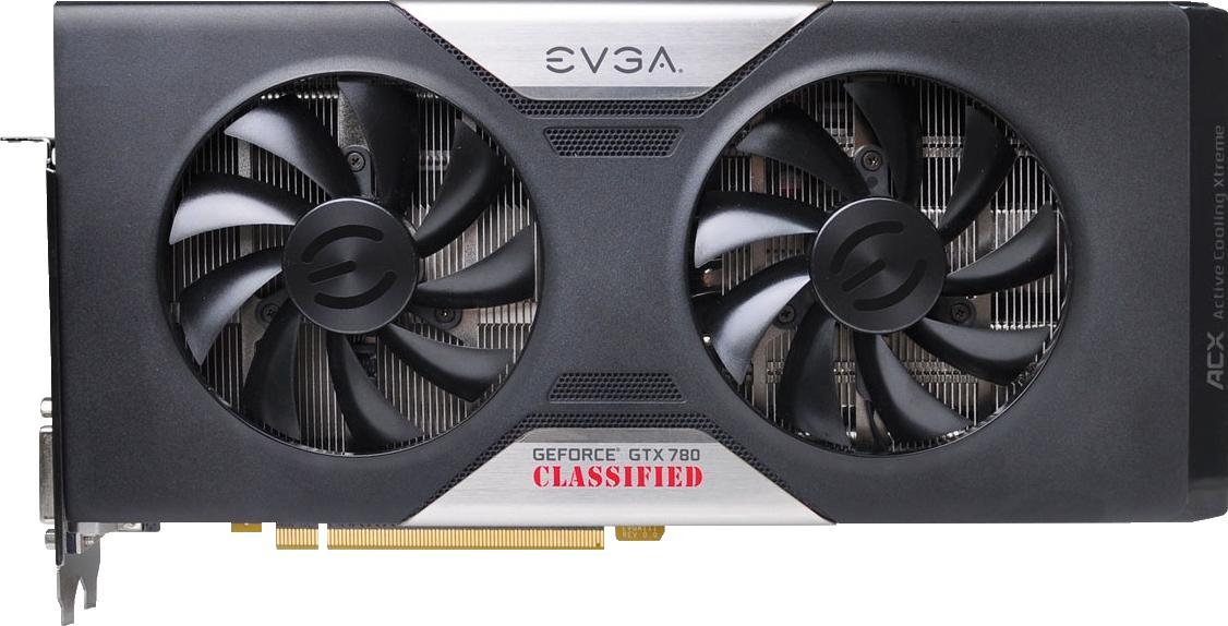 EVGA GeForce GTX 780 Ti Dual Classified ACX Cooler