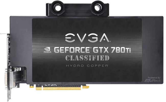 EVGA GeForce GTX 780 Ti Dual Classified Hydro Copper
