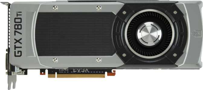 EVGA GeForce GTX 780 Ti SC