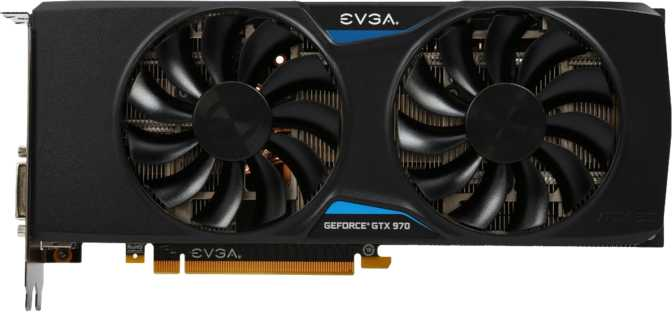 EVGA GeForce GTX 970 FTW Plus Gaming ACX 2.0+