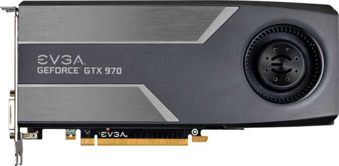 EVGA GeForce GTX 970 Superclocked Gaming