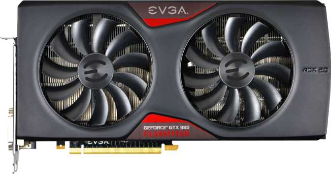 EVGA GeForce GTX 980 Classified Gaming ACX 2.0 Ref