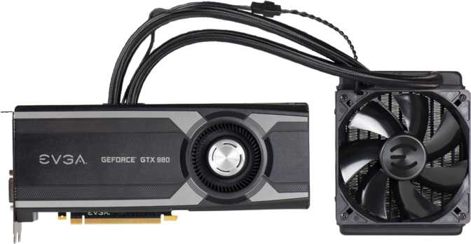 EVGA GeForce GTX 980 Hybrid Gaming