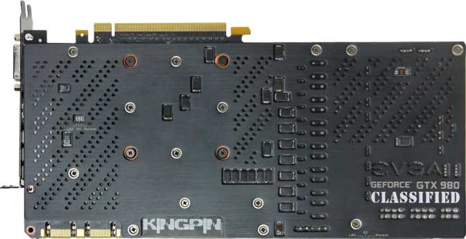 EVGA GeForce GTX 980 Kingpin ACX 2.0+ Ref