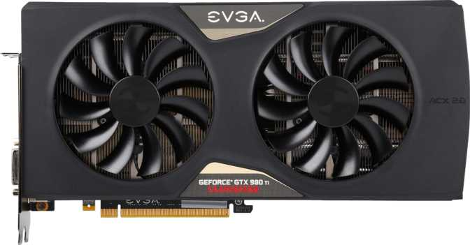 EVGA GeForce GTX 980 Ti Classified Gaming ACX 2.0+ Ref