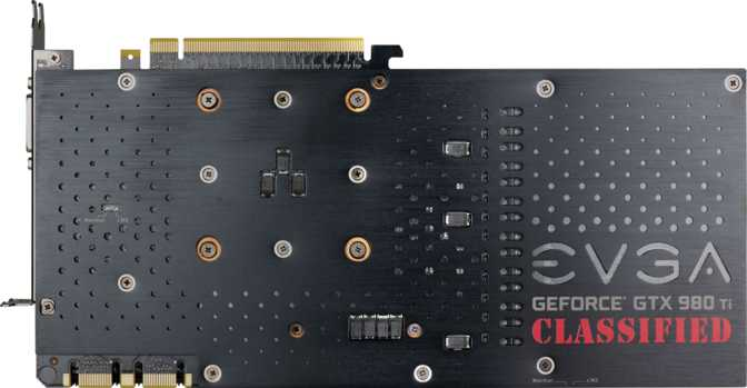 EVGA GeForce GTX 980 Ti Classified Gaming ACX 2.0+