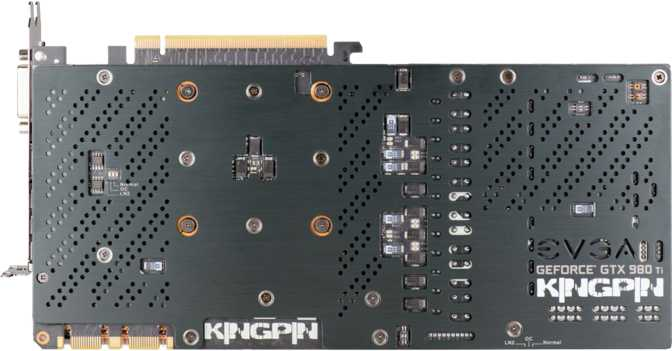 EVGA GeForce GTX 980 Ti Kingpin ACX 2.0+