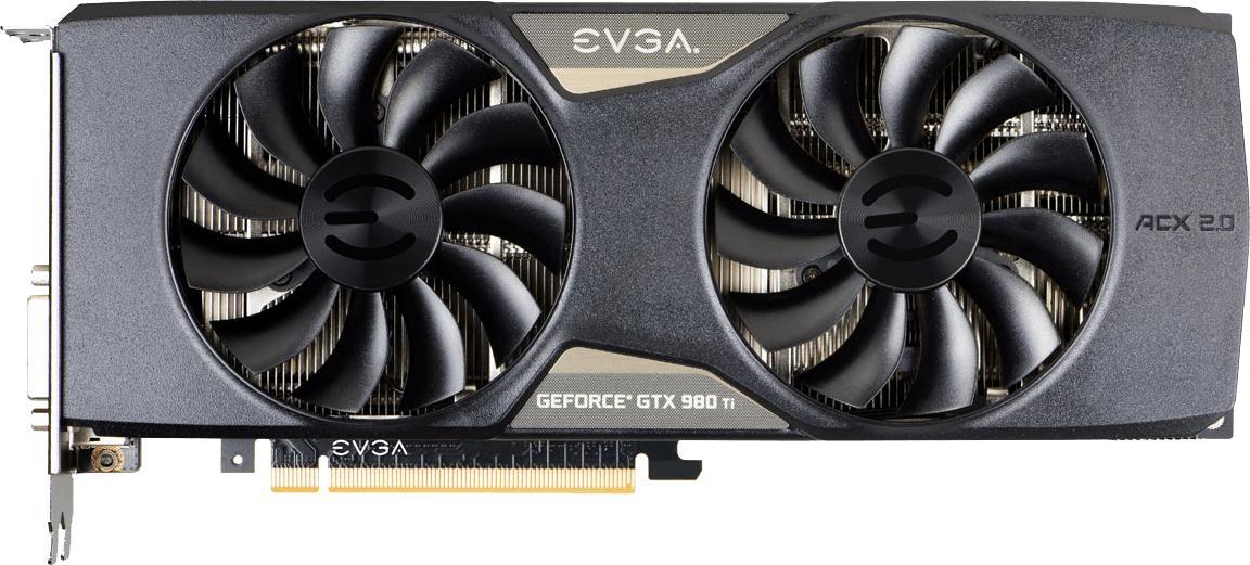 EVGA GeForce GTX 980 Ti Superclocked Gaming ACX 2.0+