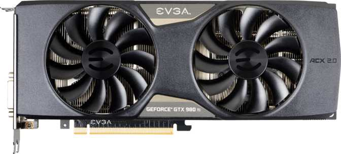EVGA GeForce GTX 980 Ti Superclocked Gaming ACX 2.0+