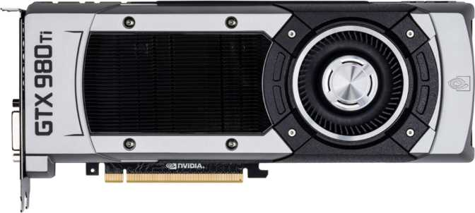 EVGA GeForce GTX 980 Ti VR Edition