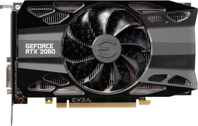 EVGA GeForce RTX 2060 XC Gaming