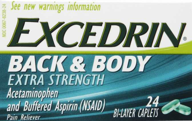 Excedrin Back And Body