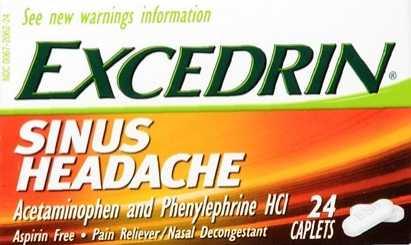 Excedrin Sinus Headache