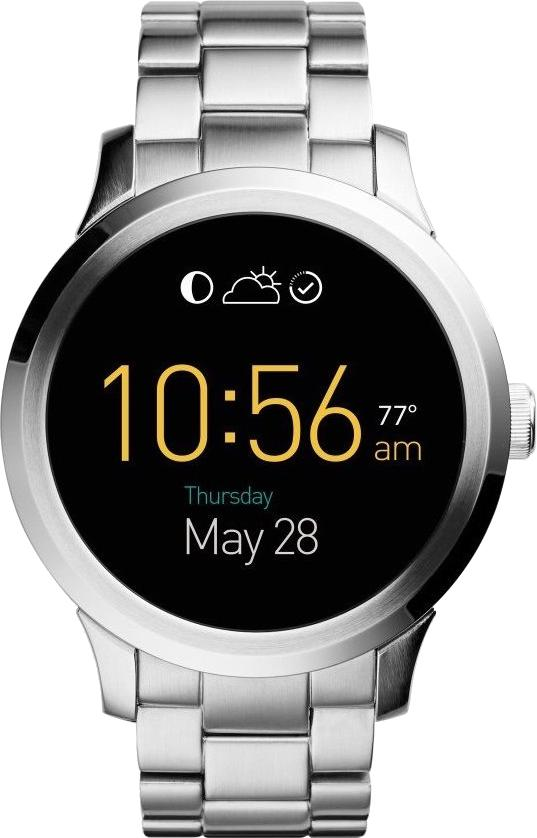 Fossil Q Founder (Stainless Steel)