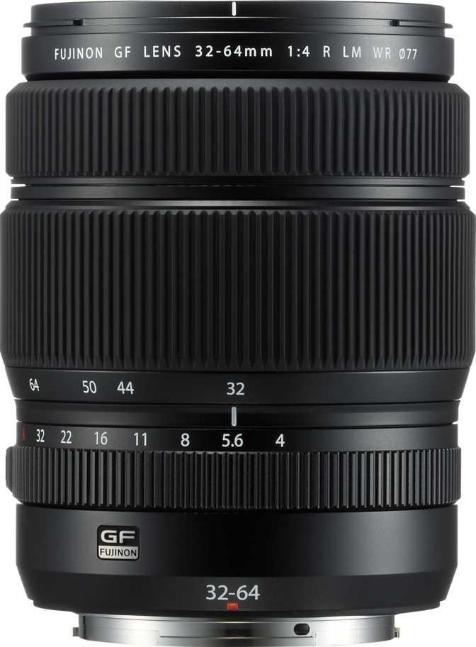 Fujifilm GF 32-64mm f/4 R LM WR