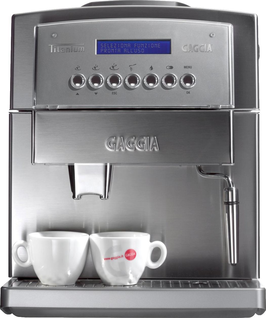 gaggia brera vs gaggia titanium compare super automatic coffee machines. Black Bedroom Furniture Sets. Home Design Ideas