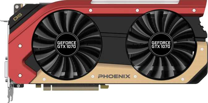 Gainward GeForce GTX 1070 Phoenix GS