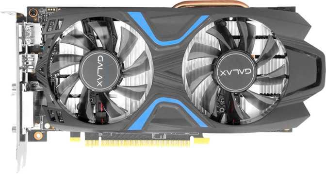 Galax GeForce GTX 1050 Ti EXOC