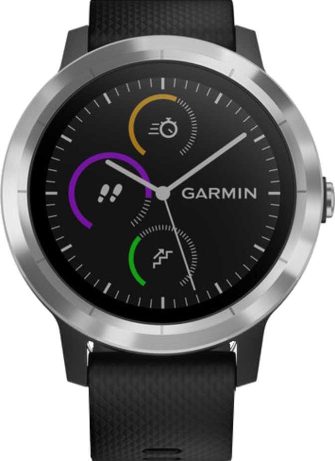 Garmin Vivomove 3 Style Hybrid Smartwatch and Wearable4U Power Pack