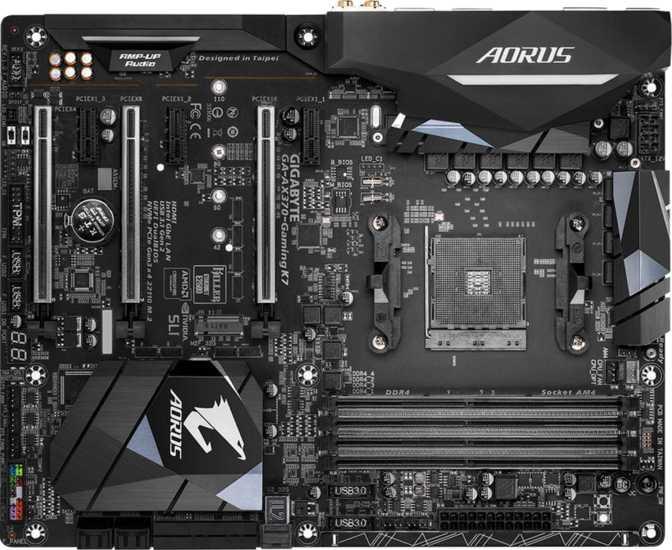 Gigabyte Aorus GA-AX370 Gaming K7