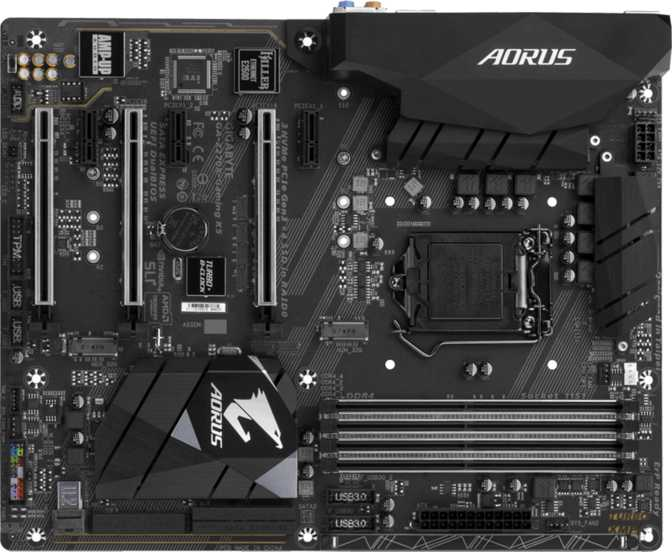 Gigabyte Aorus GA-Z270X Gaming K5