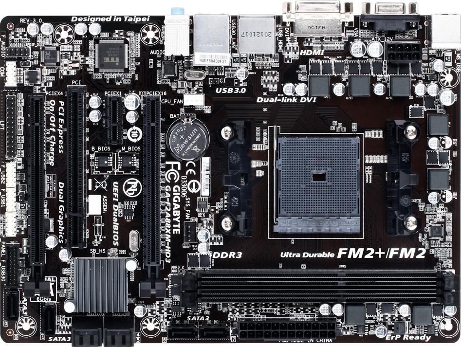 Gigabyte GA-F2A88X-HD3 (rev. 3.0)