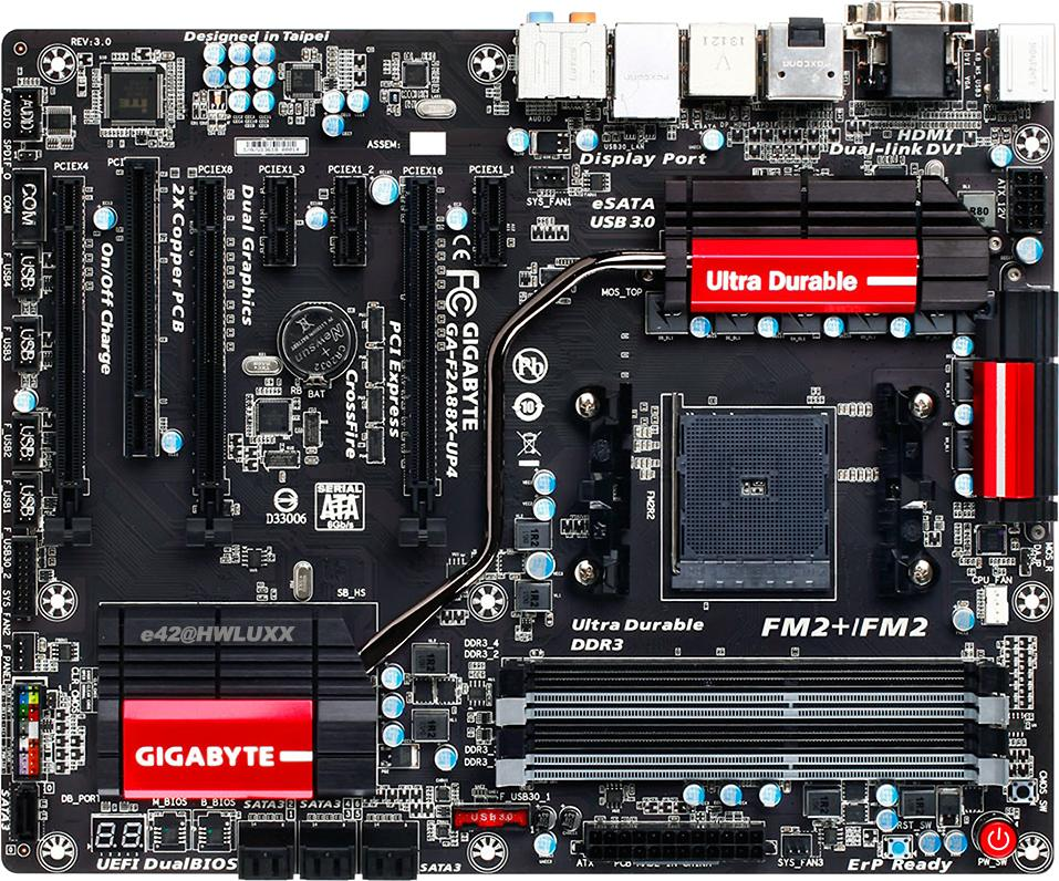 Gigabyte GA-F2A88X-UP4 (rev. 3.0)