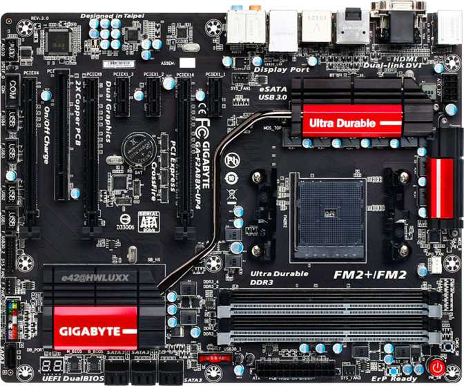 Gigabyte GA-F2A88X-UP4 (rev. 3.0)