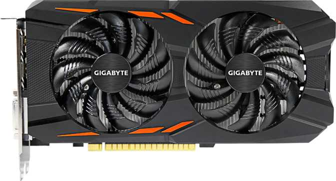 Gigabyte GeForce GTX 1050 Ti WindForce X2 OC